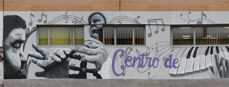 decoración con spray en Ponferrada